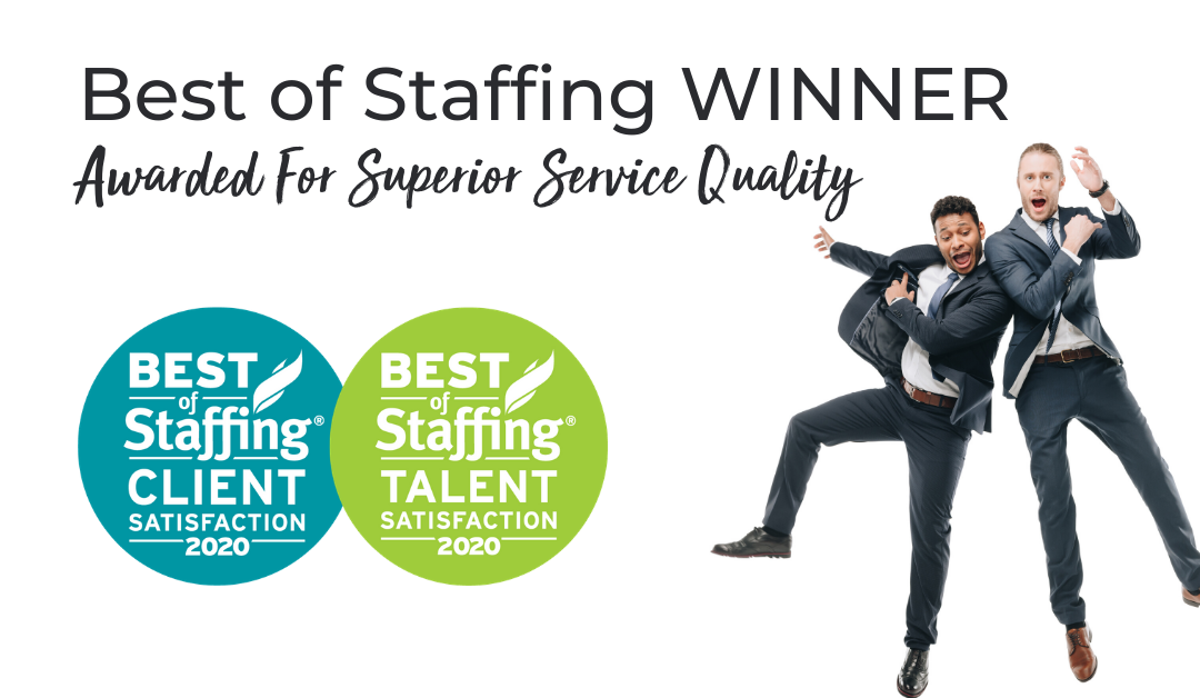 The McIntyre Group Awarded ClearlyRated's 2020 Best of Staffing Client and Talent Honor