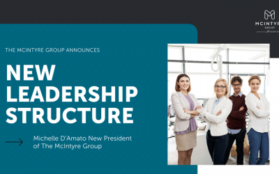 The TalentLaunch Network Announces Michelle D'Amato as President of The McIntyre Group